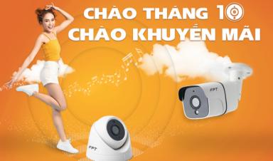 Khuyến mãi FPT Camera Tháng 10 - Camera An ninh lưu trữ Cloud
